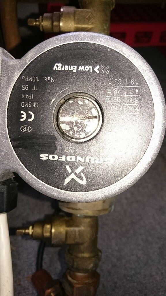 Grundfos central heating pump in good working order. See photo for ...