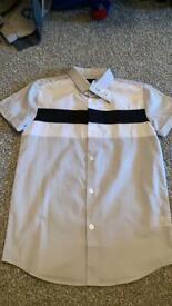 Boys River Island shirt age 7-8