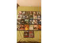 26 x DVD – World Cinema, Tartan Extreme, Martial Arts Movies