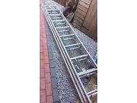 American aluminium triple ladder