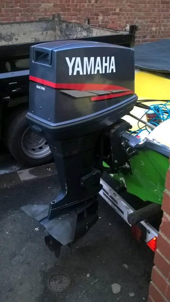 Yamaha 85 hp longshaft powertrim tilt etc