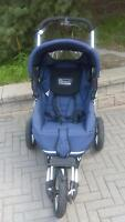 Quinny XL freestyle 3 wheel jogger stroller