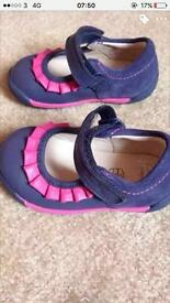 Girls infant clarks shoes brand new