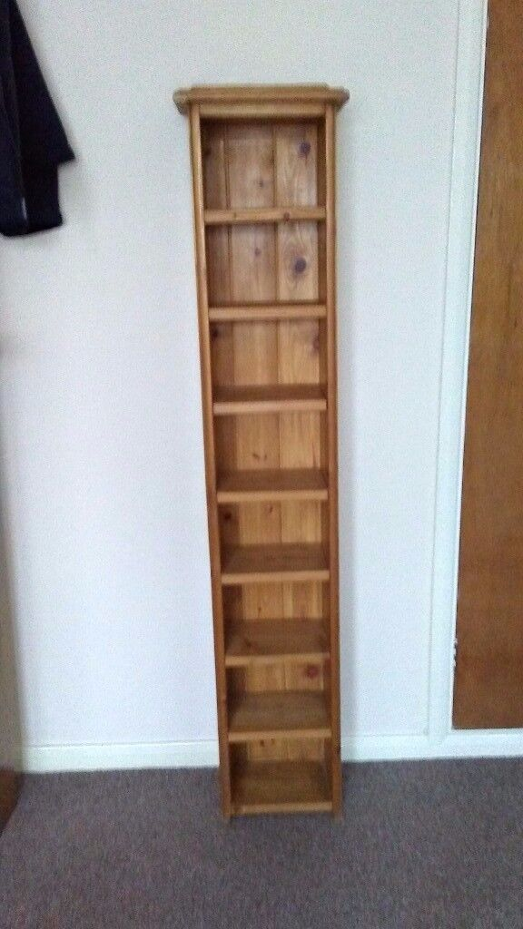 Solid pine cd stand