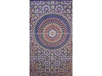 traditional design genuine moroccan 3D tiles