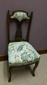 Beautiful restored vintage chair