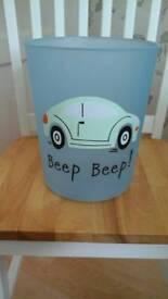 Car design storage bucket