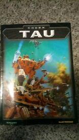 Tau Codex for Warhammer 40000