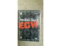 ECW dvd: The rise and fall of ECW.