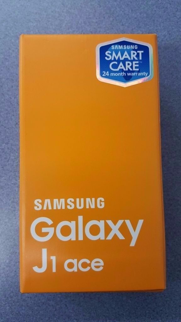 SAMSUNG GALAXY J1 ACE UNLOCKED BRAND NEW WITH RECEIPT