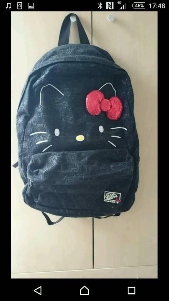 200bf6610af5 Hello kitty vans bag