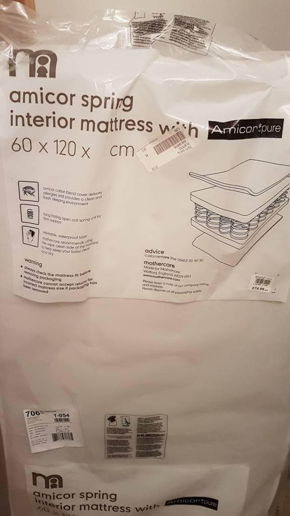 Cot/crib mattress (brand new)