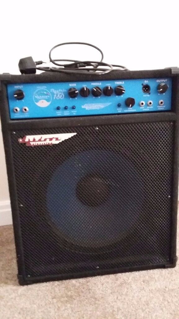 Selling Ashdown Electric Blue 180 Bass Amp