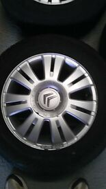 "Citroen 15"" Alloy Wheels"