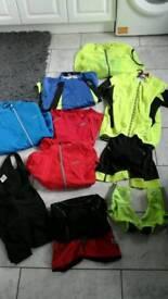 Mens xl cycling kit job lot