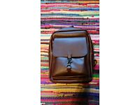 vintage PHU leather backpack, very nice and practical