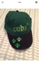 Kids Cubs Scouts Cap Baseball Style Adjustable New Design Boys Girls Summer Camp Camping VGC