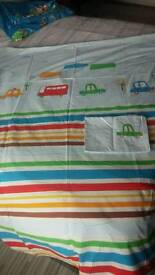 Curtains and bedding for boys