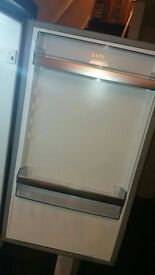 Large silver fridge freezer