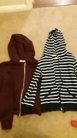 Girls hoodies age 8