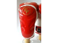 Furiousfistsuk Elite Kick Boxing Sparring & Training Gloves Red color