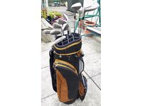 Left handed DDH Mark 2 clubs and bag