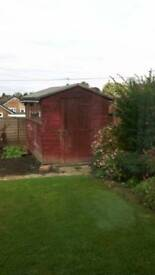 used garden shed