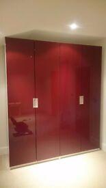 Ikea Pax hinged wardrobe doors * 4 in great condition