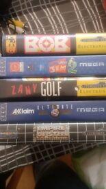 5x MegaDrive games