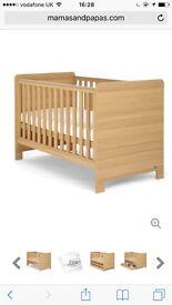 Baby cot and matteress