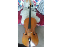 Beautiful 7/8 'Ladies size' Cello for sale