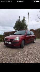 Re: RENAULT CLIO 1.2 EXPRESSION 16V RED 2003
