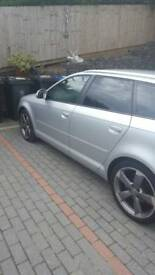 AUDI A3 8P BLACK EDITION REPLICA