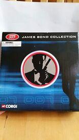 James Bond Corgi cars