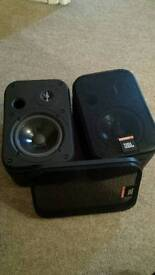 JBL Control 1 Speakers Dj Studio