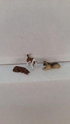 Arttista S Scale Figure 797 - Three More Dogs - Animals - Model Trains - New