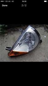 ford ka passenger side front head light