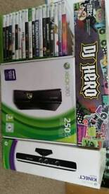 XBOX 360 S Console + Kinnect