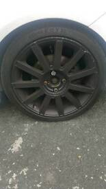 Ford fiesta st150 alloys