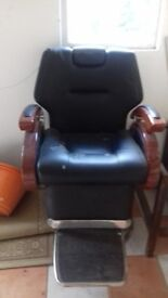 Barber's Chair for Collection Only
