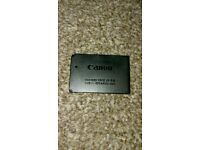 Canon rechargeable battery