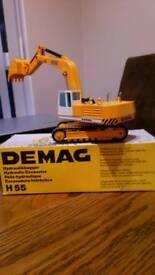 NZG H55 Demag excavator die-cast model