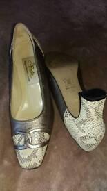 Ladies Italian high end leather Renata shoes