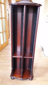Mahogany CD holder for sale