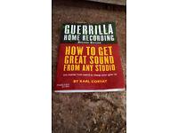 Book – Guerrilla Home Recording