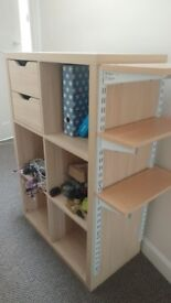 Storage unit - drawer and shelving unit