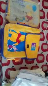 Lunch box & back pack. New
