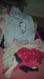 0 months - 2yrs random clothes