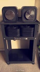 """Ironmaster Quick Lock Dumbbells With 2"""" Fat Gripz"""