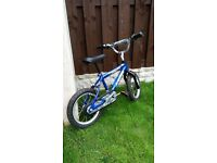 "Boys 14 "" bike bmx in excellent condition can deliver for a small charge"